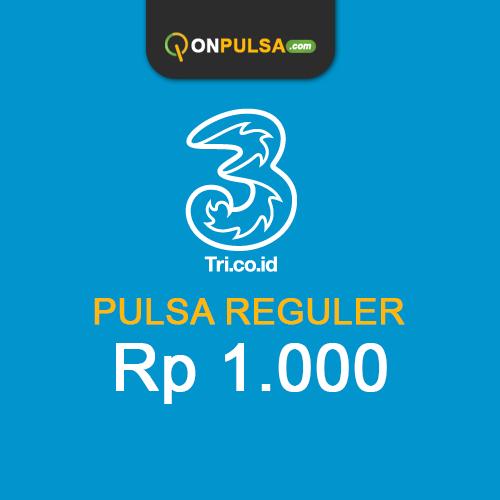 Pulsa THREE - Pulsa Tri 1.000