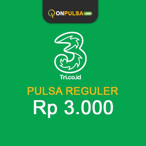 Pulsa THREE - Pulsa Tri 3.000
