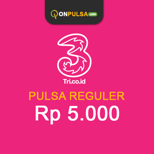 Pulsa THREE - Pulsa Tri 5.000