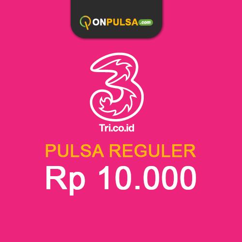 Pulsa THREE - Pulsa Tri 10.000