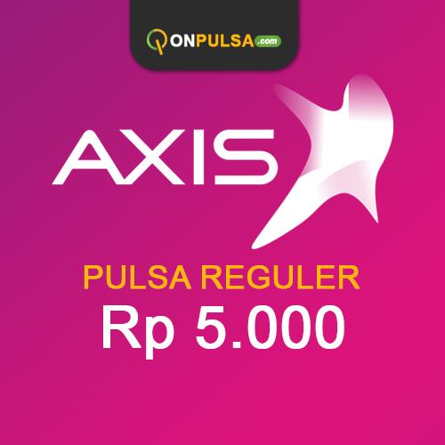 Pulsa AXIS - Pulsa Reguler 5.000