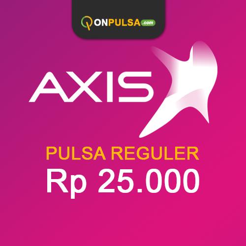 Pulsa AXIS - Pulsa Reguler 25.000