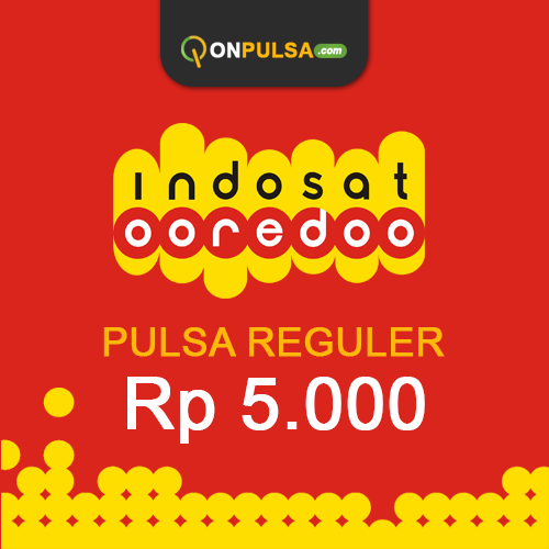 Pulsa INDOSAT - Pulsa Indosat 5.000