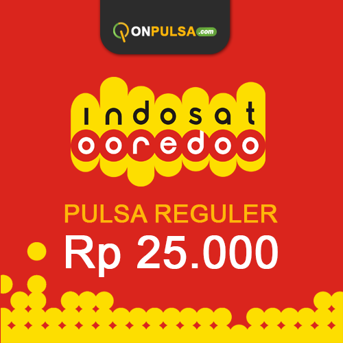 Pulsa INDOSAT - Pulsa Indosat 25.000