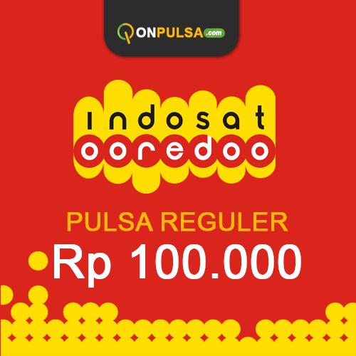 Pulsa INDOSAT - Pulsa Indosat 100.000