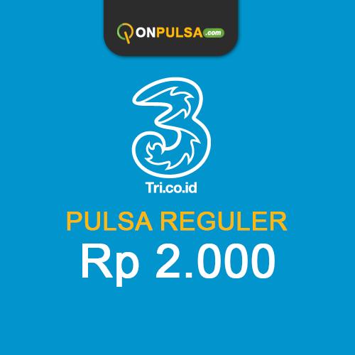 Pulsa THREE - Pulsa Tri 2.000